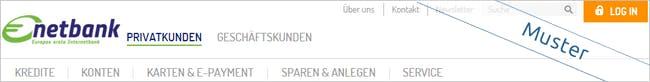 Netbank Screen