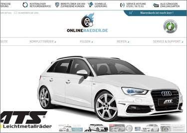 Finde deine richtigen Räder auf onlineraeder.de