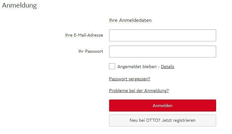Dein Kundenkonto bei OTTO - hilfreiche Informationen