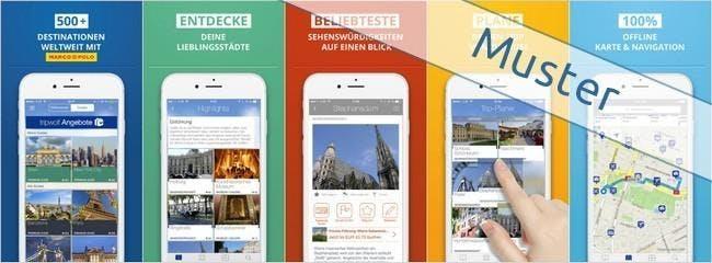 tripwolf-App für iPhone