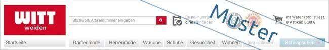 Der Witt-Weiden-Onlineshop