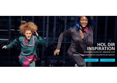 Bestelle die Activewear von Asics bequem online