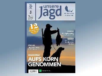 GRATIS Zeitschrift Unsere Jagd