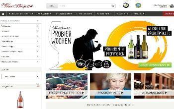 VineShop24 Startseite