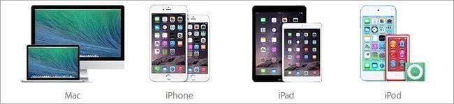 Im reichhaltigen Sortiment von Apple ist sicherlich für jeden etwas passendes dabei.