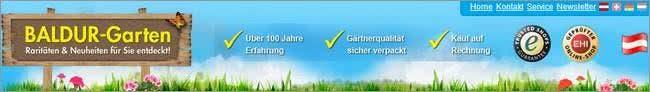 Pflanzen und Zubehör bei Baldur-Garten günstig einkaufen