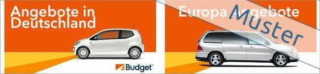 Angebote von Budget im Überblick anzeigen lassen