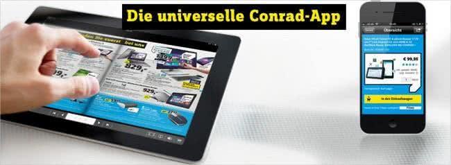 Die Conrad-App für euer iPhone und iPad