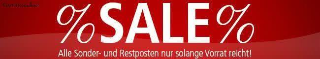 Sparen im Sale von Gerstaecker