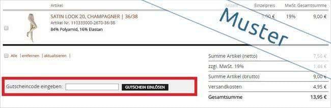 Gutschein bei Kunert.de einlösen und sparen!