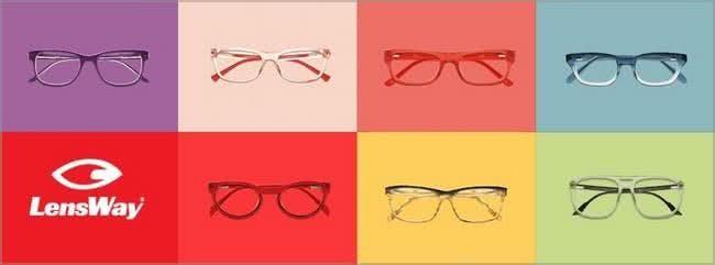 Zahlreiche Brillen gibt es für dich bei Lensway