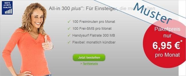 Paket Tarife über den maXXim-Online-Shop bestellen