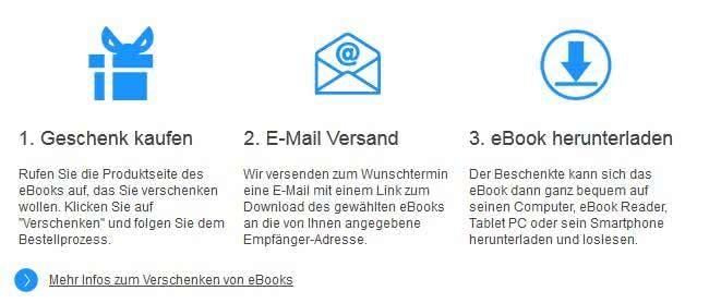 eBook.de Online-Shop Geschenkservice