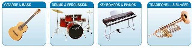 Instrumente bei Music-Town.de günstig kaufen