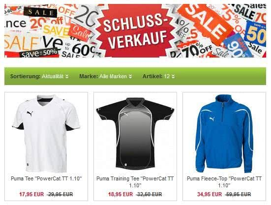 Sportartikel und Mode günstig mit einem Gutschein für Sport Böckmann bestellen