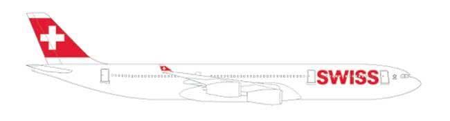 Airbus der SWISS