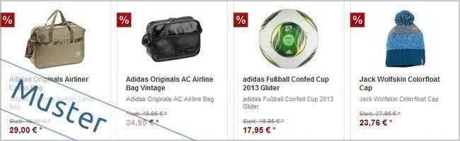 Tolle Angebote im SALE von Intersport Jena
