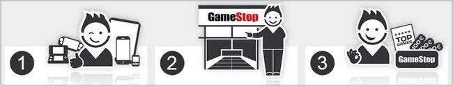 Trade-in bei GameStop