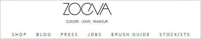 Make-up shoppt ihr bei Zoeva Cosmetics