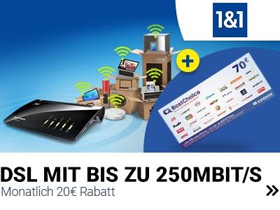 Best Choice Gutschein zum DSL-Tarif