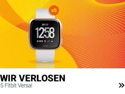 Fitbit Versa zu gewinnen banner