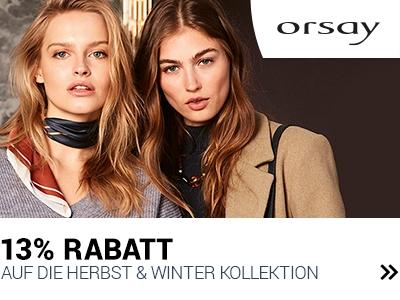 13% Rabatt bei Orsay banner