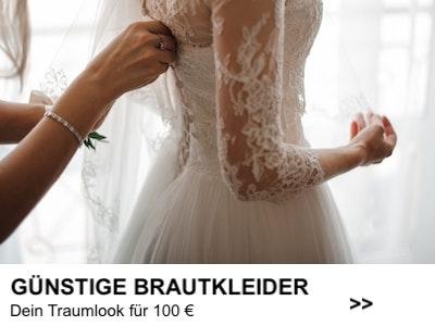 Günstige Brautkleider banner