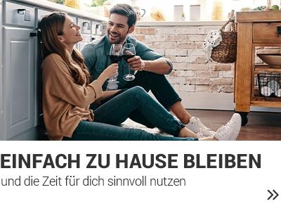 Bleib Zuhause banner