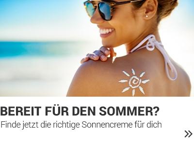 Vergleichsportal Sonnencreme banner