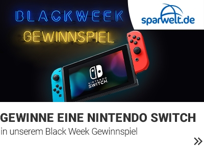 Black Week Gewinnspiel banner