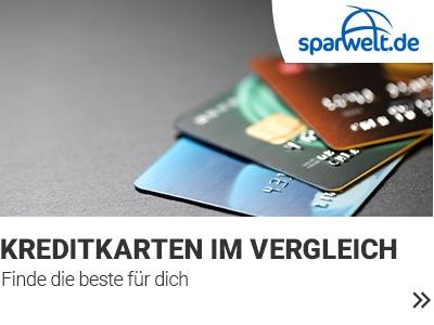 Kreditkarten Vergleich banner