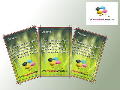 200 Vistenkarten gratis & versandkostenfrei