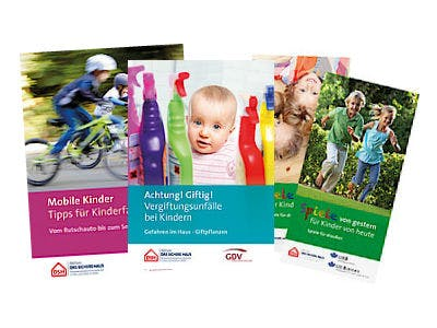 Kinder-Sicherheits-Broschüren kostenlos bestellen