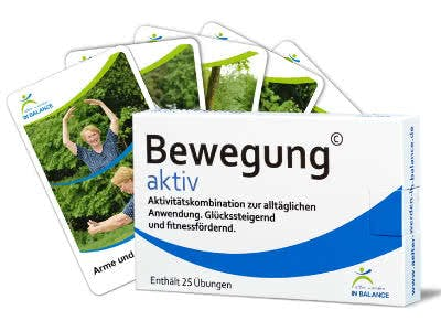 Bewegungspaket mit 25 Übungskarten gratis