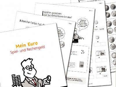 Spielgeld-Set aus Papier gratis bestellen oder ausdrucken