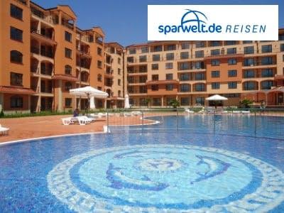 Sonnenstrand satt: 1 Woche All-Inclusive-Urlaub in Bulgarien ab 321€!
