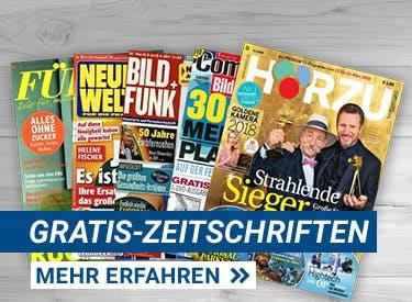 Gratis Zeitschriften-Jahresabo