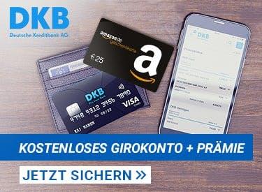 Kostenloses Girokonto + Amazon-Gutschein