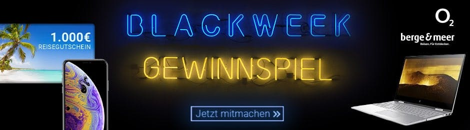 Großes Black Week Gewinnspiel