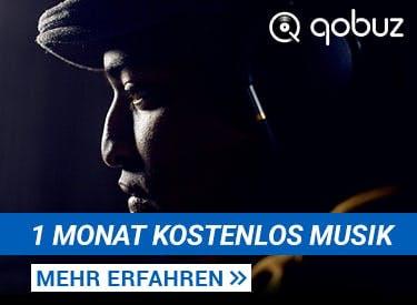 1 Monat kostenlos Musik bei qobuz