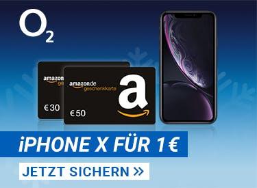 iPhone XR + Amazon-Gutschein bei o2