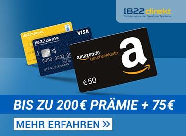 200€ Prämie für Girokonto