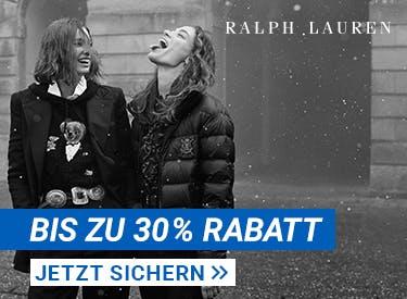 Bis zu 30% Rabatt bei Ralph Lauren