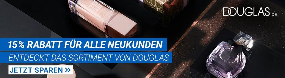 15% Rabatt bei Douglas