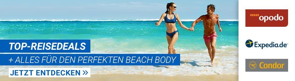 Fit & gesund in den Urlaub!