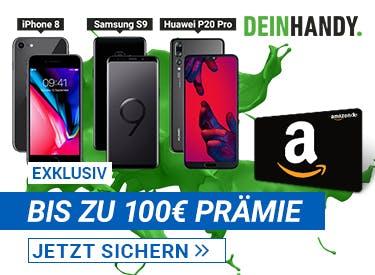 Bis zu 100€ Prämie bei deinhandy.de