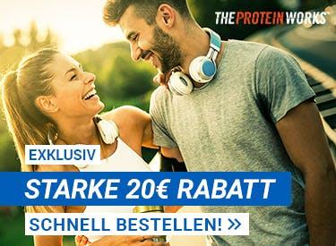 20€ Rabatt bei The Protein Works