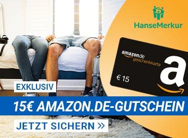 Hanse Merkur + 15€ Amazon