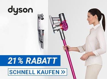 21% Rabatt bei Dyson