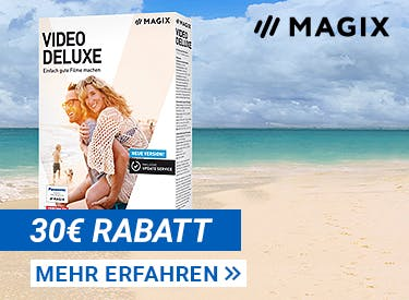 30€ Rabatt bei MAGIX